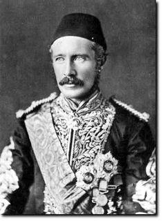 """the gallant Gordon, at Khartoum"""