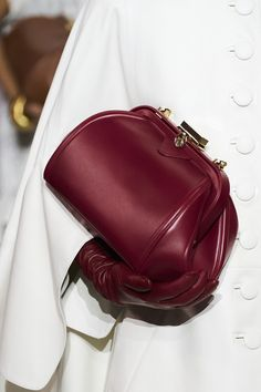 Lanvin at Paris Fashion Week Fall 2020 - Details Runway Photos Lanvin, Balenciaga, New Handbags, Purses And Handbags, Fashion Week, Paris Fashion, Gothic Fashion, Fashion Bags, Runway Fashion