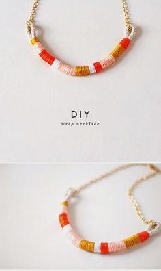 diy: un collar étnico