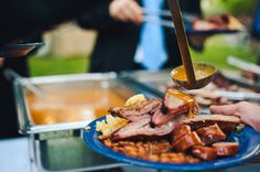 Must have some great bbq food at a bbq wedding!  #CleverFlowers