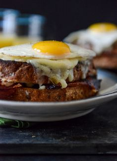 Croque Madame with Crispy Ham @steffi8cake #cravings #cousinfoodies #thoughtofyou