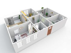 Interior Rendering, Best Interior Design, Kitchen Living, Living Room, Home Buying, 3 D, New Homes, Balcony, Perspective