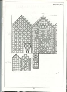 Dale of Norway Lillehammer 1994 – 36 photos Knitted Mittens Pattern, Crochet Mittens, Knitted Gloves, Knitting Charts, Knitting Socks, Knitting Patterns, Lillehammer, Diagram Chart, Horse Crafts