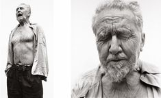 """""""Either move or be moved."""" - Ezra Pound (at William Carlos Williams' house in 1958 by Richard Avedon)"""
