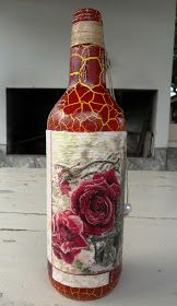 Decoupage Bottles by Carlos Rossi : Abril 2016
