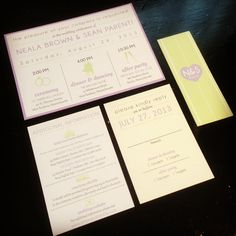 Infographic Wedding Invitation Suite by kreativees on Etsy, $4.25