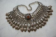 indian silver necklace - Buscar con Google