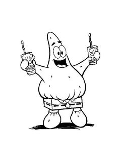 Baby Spongebob Colouring Sheet to print, coloring pages to print ...