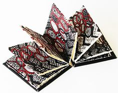 Eman AlHashemi Concertina Book