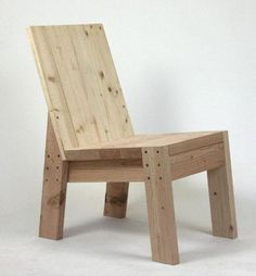Really great 2x4 chair build but no plans posted