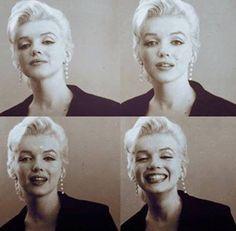 Marilyn Monroe. Last one is the best one