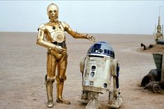 STAR WARS Inspired R2-D2 and C-3PO Wedding Rings  | R2D2-and-C3PO-Star-Wars