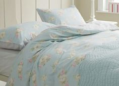 Bramwell floral cotton bed linen Laura Ashley