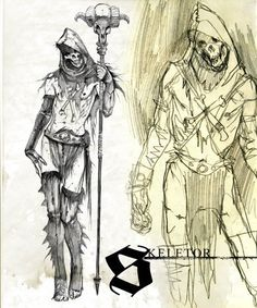 Marko Djurdjevic - Character Design Page