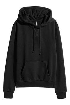 Mikina s kapucí - Černá - ŽENY | H&M CZ 1