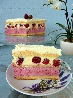 Raspberry Torte, Chocolate Torte, Different Cakes, Polish Recipes, Something Sweet, Vegan Desserts, Vanilla Cake, Sweet Tooth, Cooking Recipes