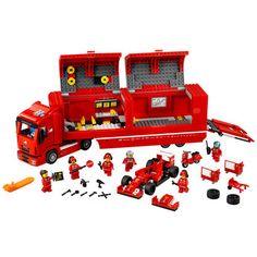 Lego Speed Champions F14 T and Scuderia Ferrari Truck (75913)