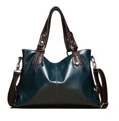 Fashionable Women's Shoulder Bag With Color Block and Zip Design Color: LAKE BLUE, YELLOW, PLUM, WINE RED, BLACK, WHITE, BLUE Category: Bags > Women's Handbags > Shoulder Bags   Handbag Type: Shoulder bag  Style: Fashion  Gender: For Women  Pattern Type: Patchwork  Handbag Size: Medium(30-50cm)  Closure Type: Zipper  Interior: Interior Zipper Pocket  Occasion: Versatile  Main Material: PU  Hardness: Soft  #navybluehandbagsleather #navybluehandbags #leatherhand #fashionbags #bridgat.com