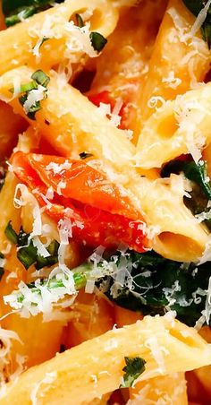 Creamy Rosé Pasta with Roasted Tomatoes