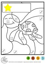 Looking for a Coloriage Avec Chiffre A Imprimer. We have Coloriage Avec Chiffre A Imprimer and the other about Gratuit Coloriage it free. Kindergarten Colors, Kindergarten Math Worksheets, Teaching Kindergarten, Math Resources, Math Activities, Free Preschool, Preschool Printables, Spring Arts And Crafts, School Frame
