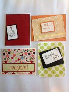 Cute handmade cards :)