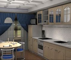 Small kitchen design, 24 Cool designs - Kitchen A