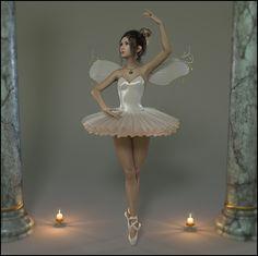 Just danceby Raindroptheelf  #fairy #raindroptheelf #elf #renderosity #dance #ballett #dazstudio