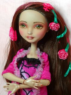 OOAK custom Ever After Briar doll repaint with more by Dirili