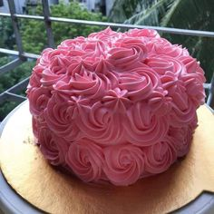 Pink Rose Cake. JS yummy. . facebook.com/yummyjs twitter.com/yummyjs Instagram.com/jsyummy2 linkedin.com/in/jsyummy . . #jsyummy #yummy #sweets #js #pinkrosecake #bestrosecake #lovelypinkrose #softpinkrosecakes #cakewithrosesontop #pinkcakewithflowers #pinkcakewithdesign #pink #birthdaycakeswithflowers #rosecakewithdesign #whiterosecakes #whiteflowerscake #whiterosebirthdaycake #pinkrosebirthdaycakes #whiteflowersbirthdaycakes #moistwhiterosecakes #simplerosecakes #simpleflowerscakes. Birthday Cake Roses, Happy Birthday Cakes, Rose Cake Design, Pink Rose Cake, Forest Cake, Simple Rose, Cake Images, Pudding Cake, Love Cake