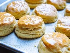 Super-Flaky Buttermilk Biscuits With Honey Butter Recipe   SAVEUR
