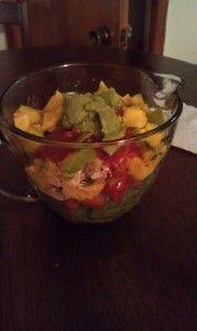 Mango Chicken Fajita Salad