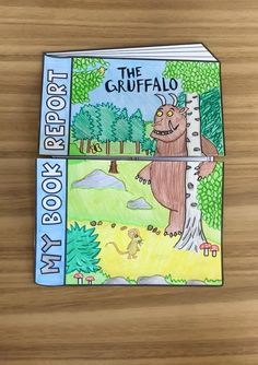 Book Report Activity – My Teaching Pal Book Report Activity Get your students exploring texts with this book report Craftivity. This fun reading activity is designed for first grade, second grade and third grade. Reading Activities, Teaching Reading, Kissing Hand Activities, Earth Science Activities, Reading Fluency, Kindergarten Writing, Science Lessons, The Gruffalo, 2nd Grade Reading