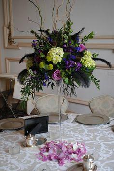 Wedding Reception Wedding Flowers Photos on WeddingWire