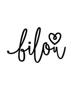 I ♡ Bilou
