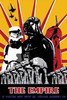 ¡El Imperio Te Necesita! (Posters Propaganda Star Wars)