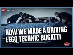See how it was made - The Amazing Life-Size LEGO Technic version of the Bugatti Chiron Technique Lego, Lego Film, Grandeur Nature, Thing 1, Bugatti Chiron, Parents As Teachers, Lego Technic, Cool Lego, Cars