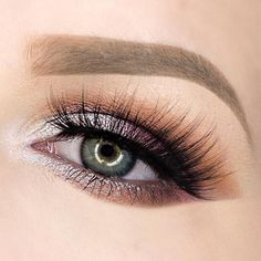 gorgeous soft smokey eye ~  we ❤ this! moncheribridals.com