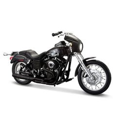 Miniatura Moto Sons of Anarchy Jax – 2003 Harley-Davidson Dyna Super Glide Sport - Maisto 1:18