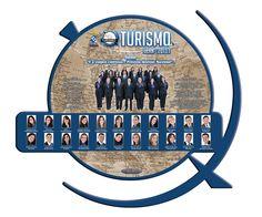 Placa de formatura Turismo UERN 2013.1