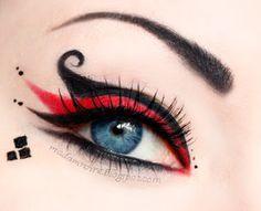 Madam Noire Makeup Studio: Harley Quinn