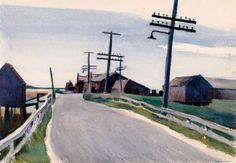 Edward Hopper, Wellfleet Road, 1931