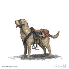 Medium Riding Dog by Fesbraa on DeviantArt