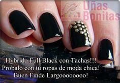 Hybrido Full Black con Tachas!!! Probalo con tu ropas de moda chica! Buen Finde Largoooooooo!