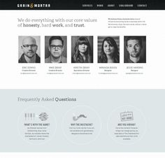 """30 Most Creative """"About US"""" Pages of Web Design Agencies   http://www.inspireyourway.com/most-creative-about-us-pages/"""