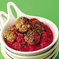 Recept - Kruidige kipballetjes in tomatensaus - Allerhande