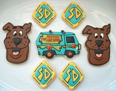 Scooby Doo yes. Birthday cookies for my Cash