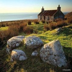 Crofter's Cottage Melvaig, near Gairloch, Wester Ross, Highlands, Scotland Wester Ross, Beau Site, Scottish Highlands, Highlands Scotland, Cottages Scotland, Scottish Cottages, Scotland Castles, Skye Scotland, Excursion