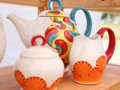 Pottery by artist Kelsey Nagy