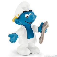 Scientist Smurf by Schleich