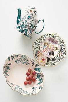 Emma J Shipley Maisie Serving Stand Aspinal Of London, Isle Of Man, Swarovski, Nails Inc, Pink Peacock, Anthropologie Home, Ceramic Tableware, Star Wars Collection, Dinnerware Sets